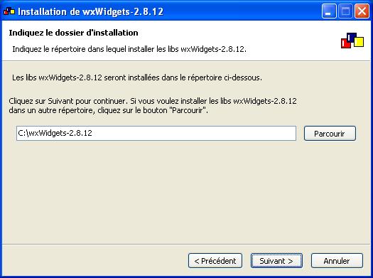 Tutoriel : Vos applications avec wxWidgets